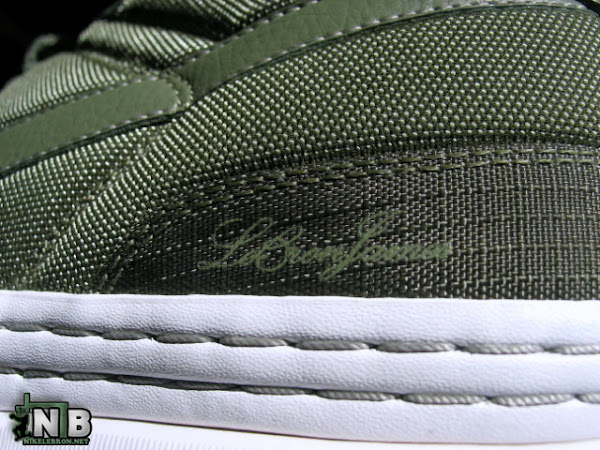 designer fashion 4fc7b a38bd Nike Zoom LeBron 6 Low White/Army Green Look-and-See ...