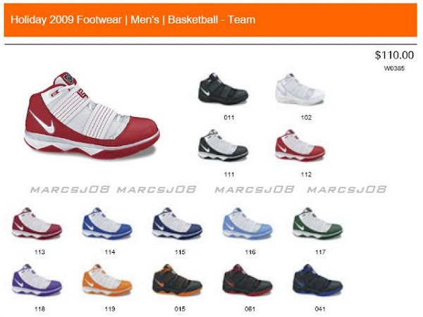 online store 6a70f 369db Nike Zoom LeBron Soldier III Team Bank Colorways Annouced ...