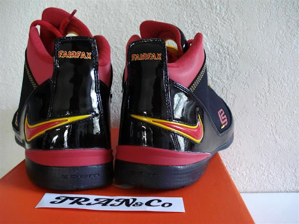Nike Zoom LeBron Soldier Fairfax HS Away PE
