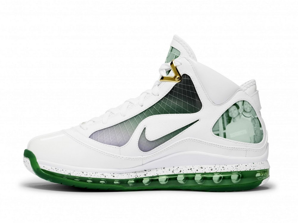 3e0fcec8c39 ... Nike LeBron VII 8220More Than a Game8221 Akron 8220Family8221 Official  Pics ...