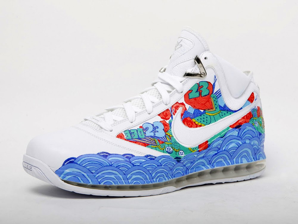 3ef1c528a91 Nike Air Max LeBron VII Artist Series Shenyang by Ray Lei ...