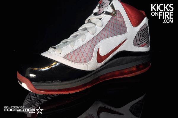 531d1d60e84 Nike Air Max LeBron VII Alternate Sample 8211 White Bottoms ...