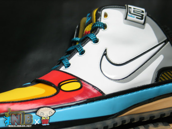 bf05f53ea90f6 ... NLBnet Exclusive Zoom LeBron VI 8220Stewie8221 from the Family Guy ...