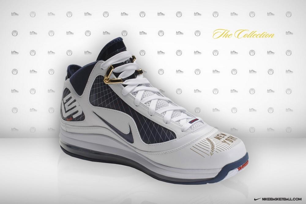 aaf33a5aea7a ... Nike Air Max LeBron VII New York Yankees Promo Colorway ...