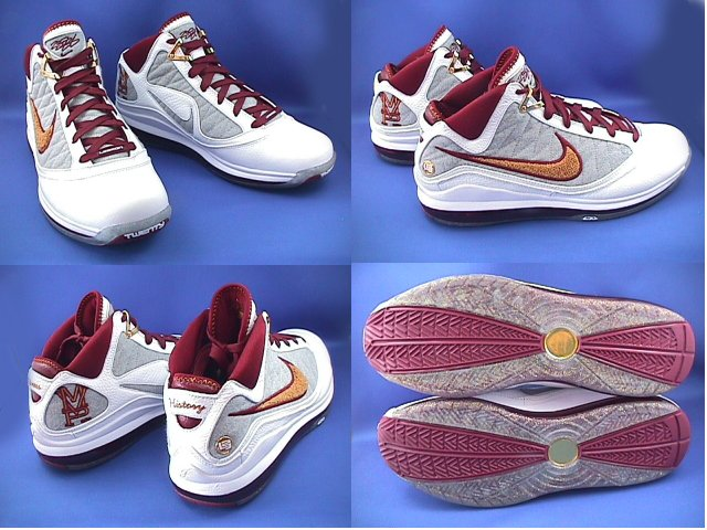 7c5dedbdc2914 ... White Bronze-Team Red-Wolf Grey. Nike Air Max LeBron VII NFW MVP 8211  They8217re Real Coming Soon ...
