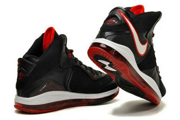 afd8bcdeb5eb ... Nike Air Max LeBron VIII BlackWhiteRed Official Release Date ...
