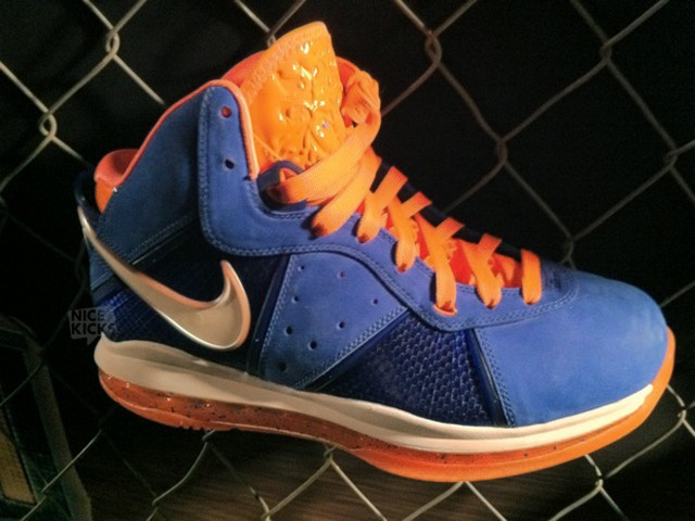 huge discount 19416 c9a34 ... Nike LeBron 8 New York x 2 Charcoal White amp Blue and More ...