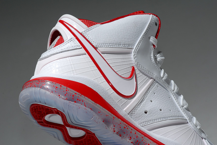 Nike LeBron 8 WhiteSport Red China Exclusive Colorway ... f637d1ad8