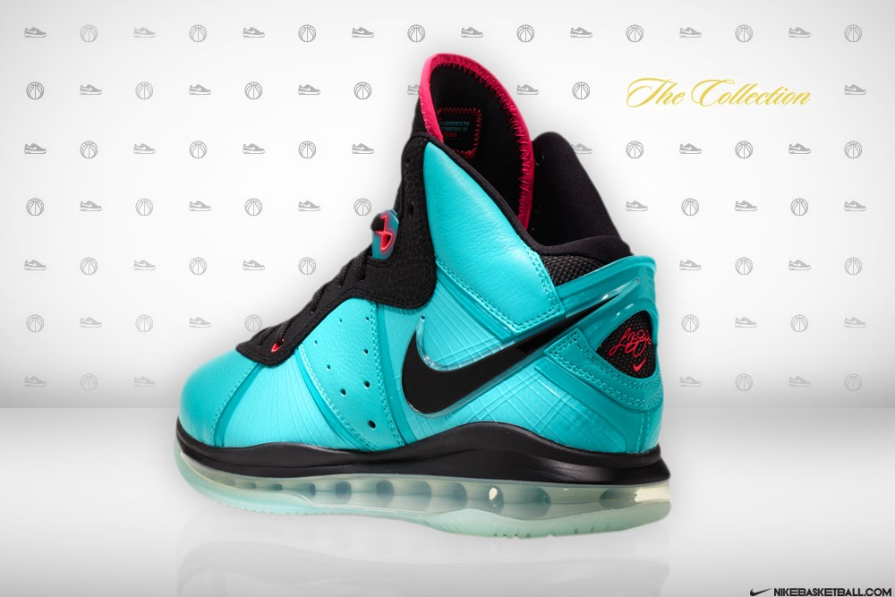 huge selection of 0ba5b 6aad8 ... Nike LeBron 8 Miami South Beach Edition 8211 Release Information ...
