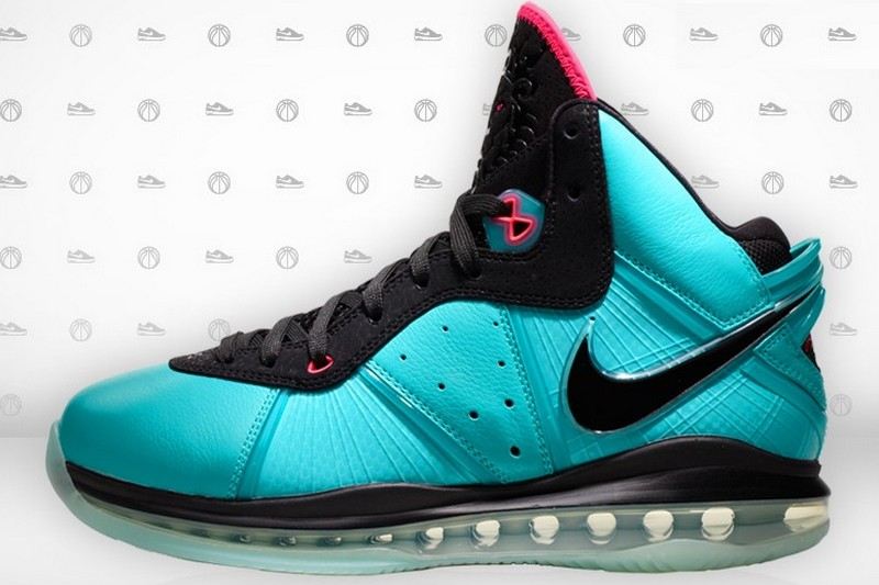 ab3af2c2872c Nike LeBron 8 Miami South Beach Edition 8211 Release Information ...