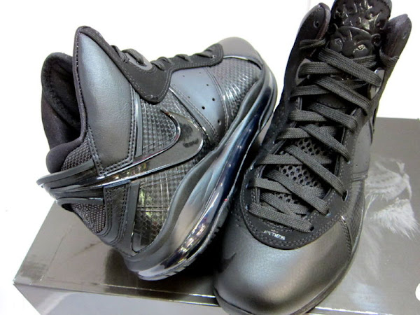 e6e52f13b8c5 Nike Air Max Lebron VIII all black shoes ... ... BlackBlackAnthracite  Closer Look at Nike LeBron 8 417098001 BlackBlackAnthracite .
