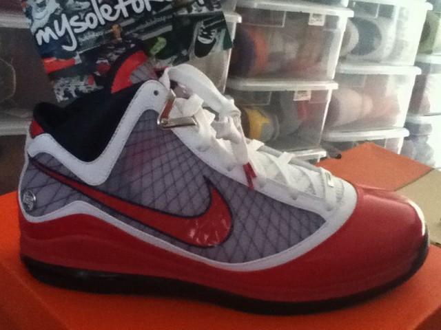 9c9e724fc78 Taurasi8217s Nike Air Max LeBron VII USAB amp Mercury PEs ...