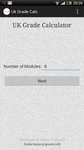 UK Grade Calculator