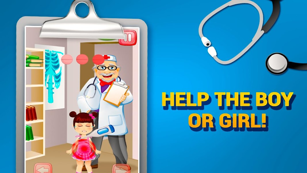 Little Tummy Doctor, doctor game, learning games, ambulance game, baby secret