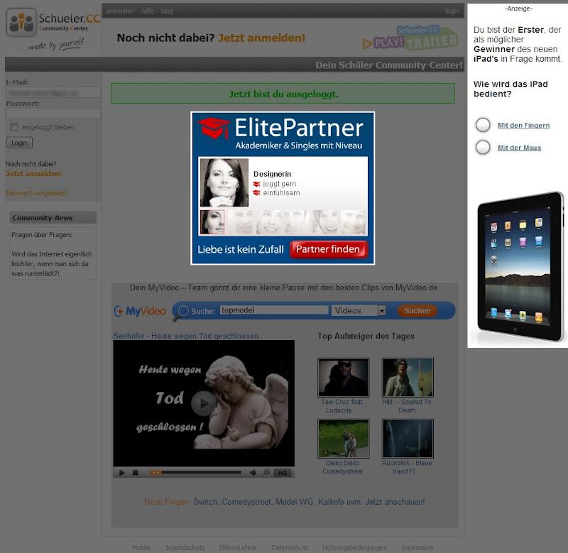 Screenshot 2 Schueler.cc