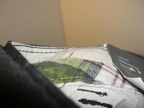 Nadel im Hosenbund
