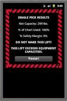 Screenshot of Crane Lift Calculator