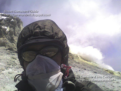 damavand sulfur gasand vinegar mask