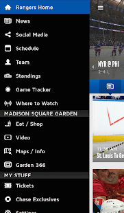 Official New York Rangers App- screenshot thumbnail