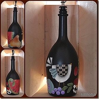 bottiglia olio lisa