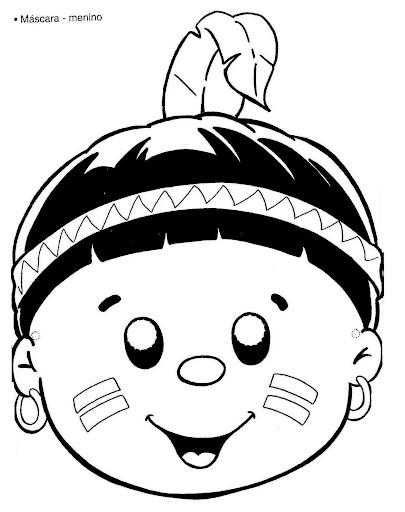 Dibujo De Niño Indigena Imagui
