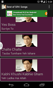 Best of SRK Songs-HD - screenshot thumbnail