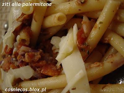 Ziti alla Palermitana i pasta z tuńczykiem