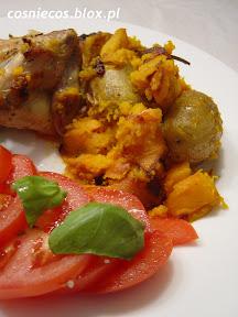 Kurczak pieczony z dynią (m.in.)