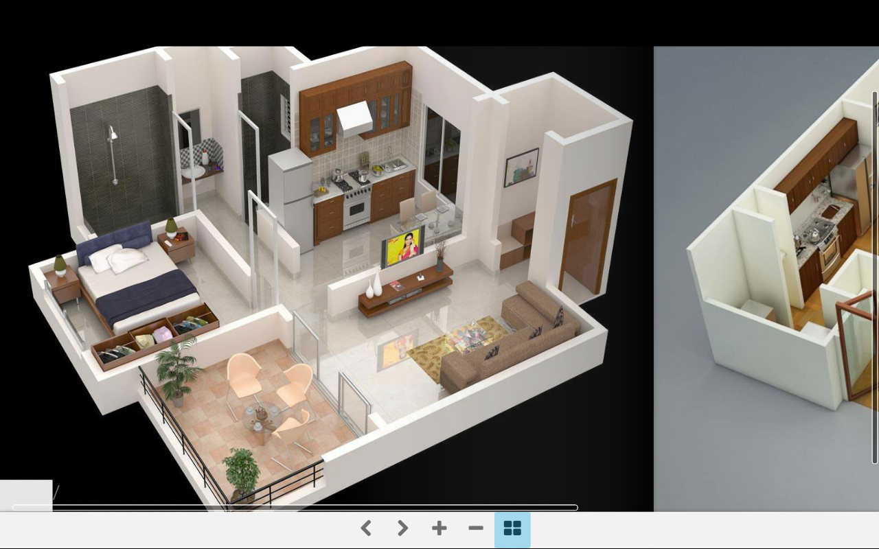 3d home plans android apps on google play for Small house plan design 3d