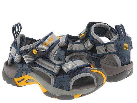 34cb44e2e Teva Kids Toachi (Toddler Youth)  Reef sandals fanning