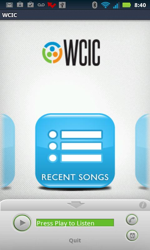 WCIC - screenshot