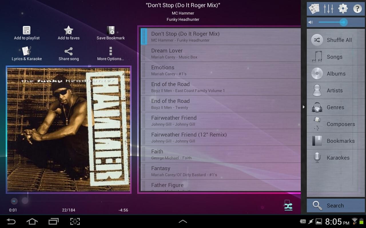 Music Player (Remix) - Trial - screenshot