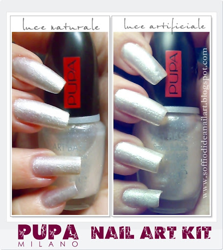 Pupa Nail Art Kit Review: Bianco E Viola