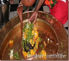 Pooja Performed on Mamalleshwar Jyothirlinga