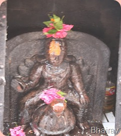 Bhairav at Bhima Shankar Temple