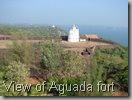 View of Aguada fort
