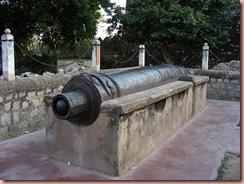 jhansi fort canon