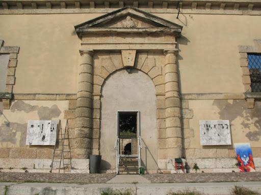 Doorway of the Darsena, Canoa Club, Verona.