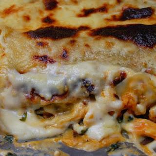 Chicken & Pumpkin Lasagne