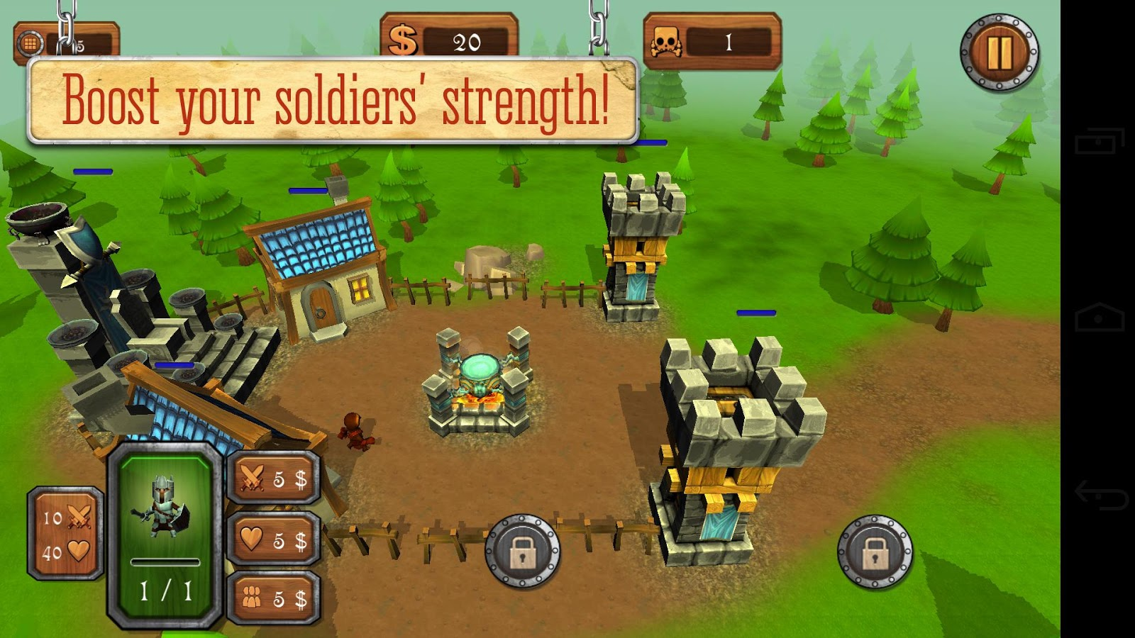 Tower Defense: Kingdom Defence- screenshot