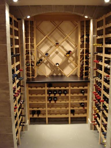 ma cave vin c 39 est fini. Black Bedroom Furniture Sets. Home Design Ideas