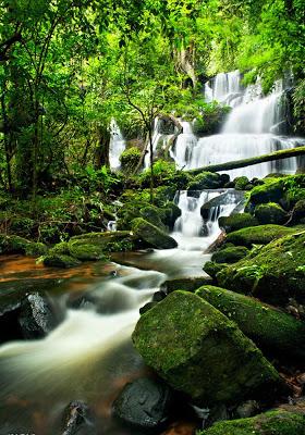 Natural scenery: Waterfall - screenshot