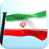 Iran Flag 3D Free Wallpaper