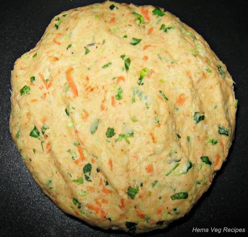 Vegetable Paratha Dough
