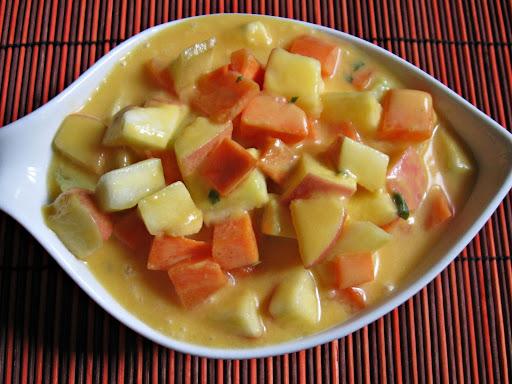 Orange Yogurt Salad