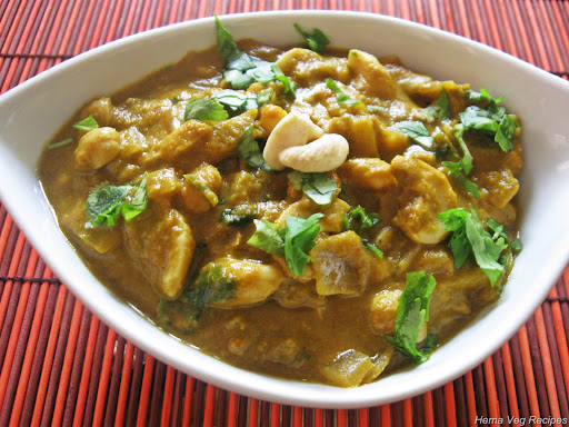 Kaju Curry or Cashew Nut Curry