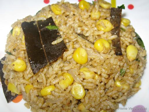 Corn Pulao/Pulav