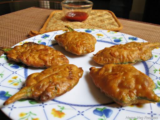 Palak Pakora or Spinach Pakora