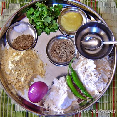 Missi Roti Ingredients
