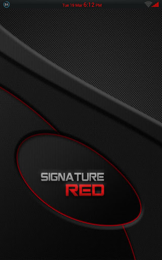 Signature Red Theme CM AOKP
